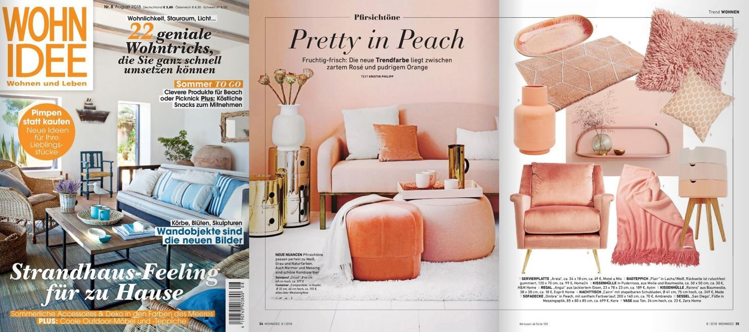 Aytms Rose Angui Shelf Featured In Wohnidee Aug 2018 Press And Blogging About Aytm Gallery Wall Wall Shelves