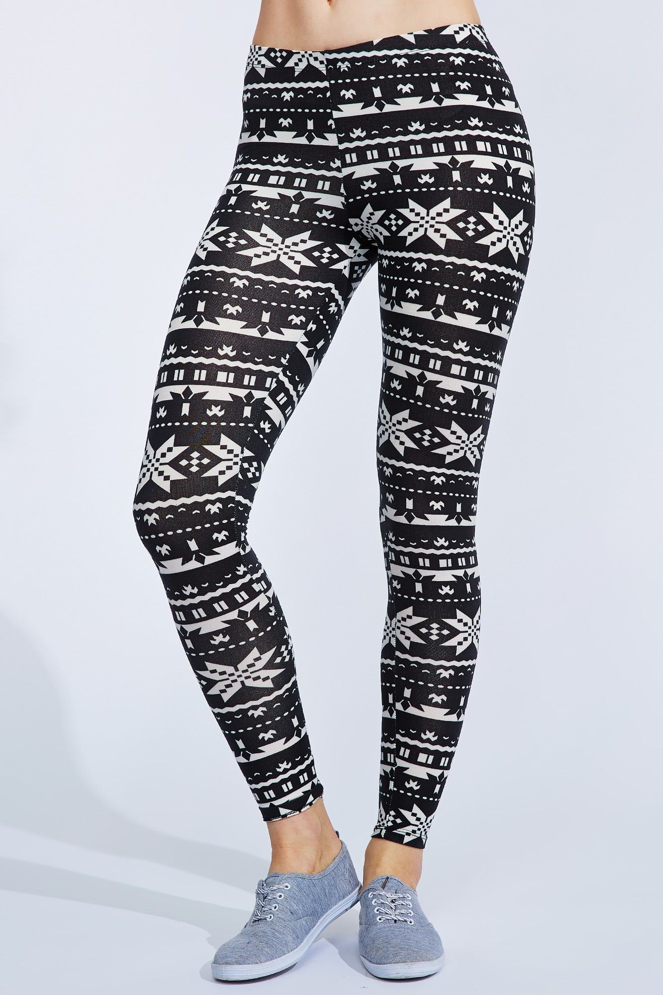 0522-44062285 Nordic Print Leggings