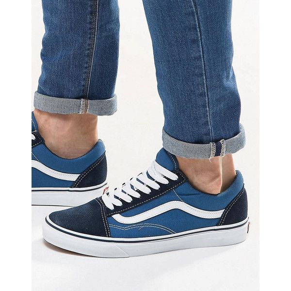 Vans Old Skool Trainers Blue [doorsstore_ao160116282
