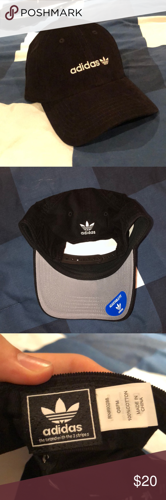 5743f5fa5e9 Adidas Originals Corduroy Hat Brand new never worn
