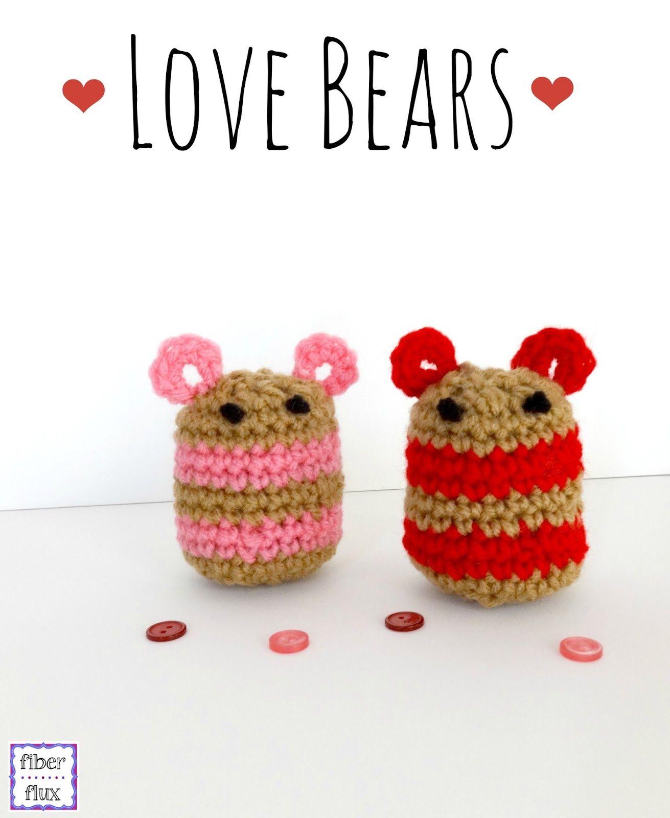 Fiber Flux: Free Crochet Pattern...Love Bears! | crochet | Pinterest ...