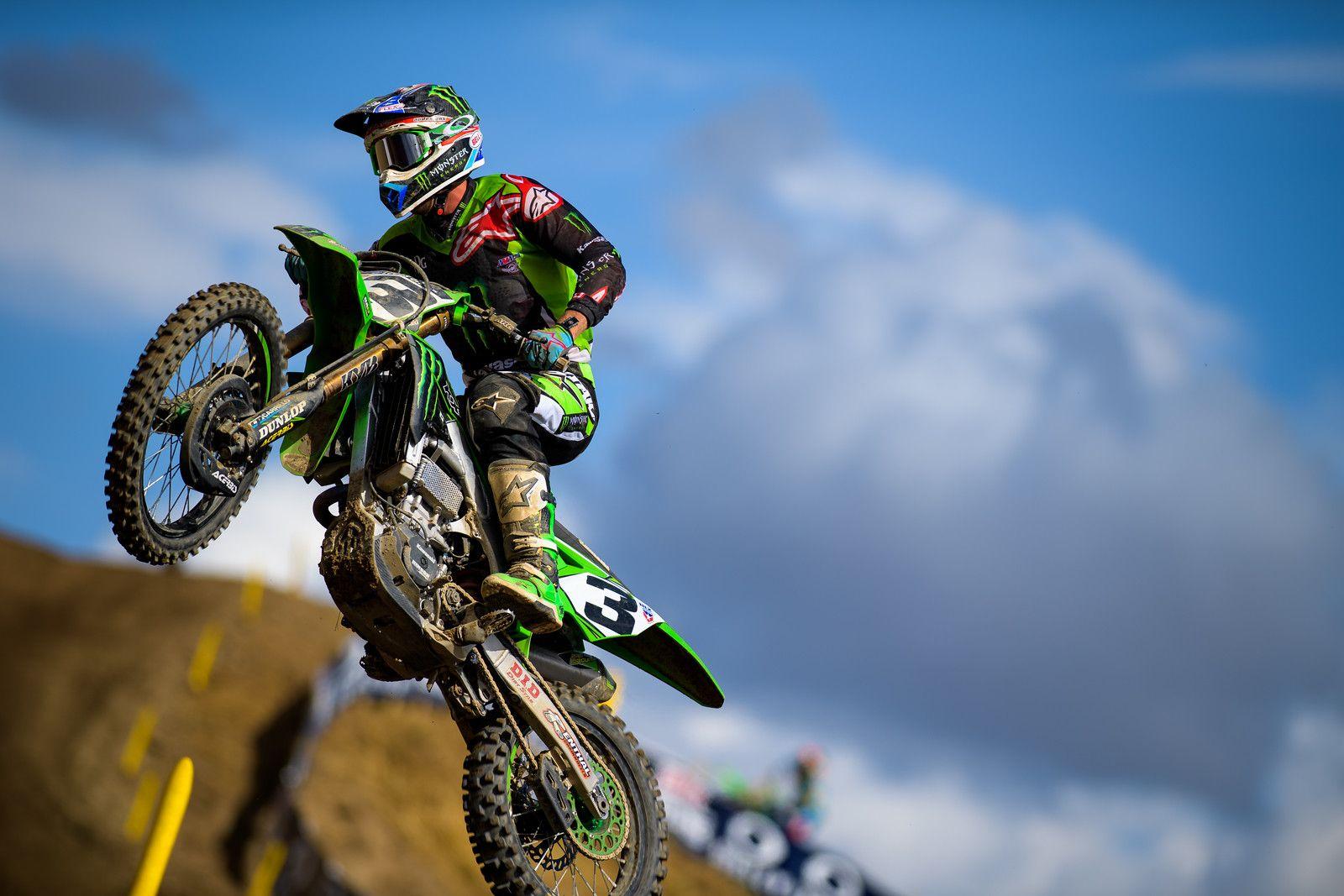 Eli Tomac Hnagtown Mx Bike Motosport Motocross
