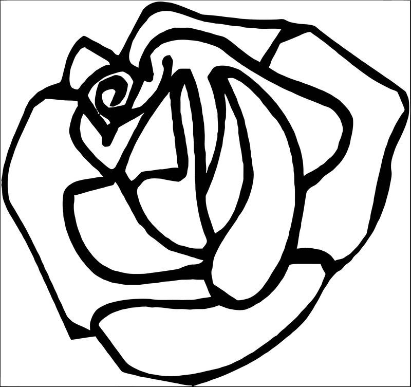 Rose Flower Coloring Page 127 See the category to find ...