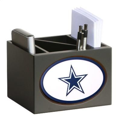 Dallas Cowboys Desk Organizer Desktop Organization Dallas Cowboys Wooden Desk Organizer