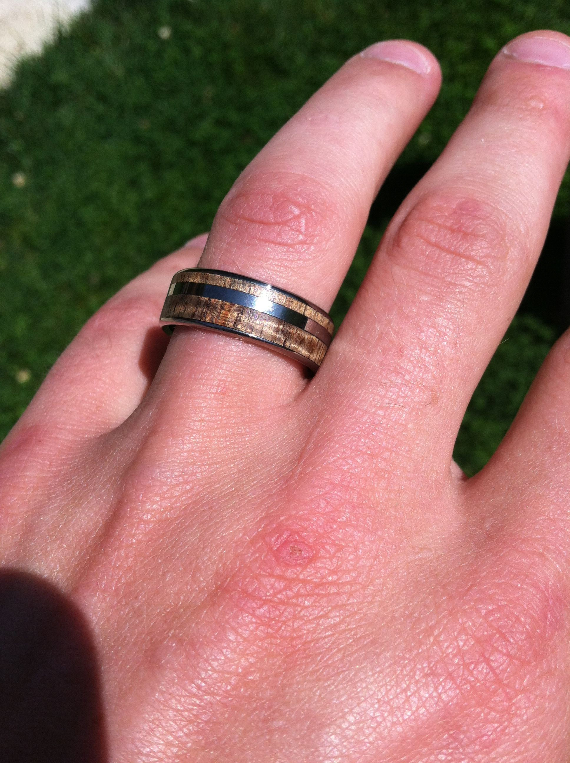 Hey Tony! Nice Ring :) Koa Wood ring by Minter & Richter Designs ...