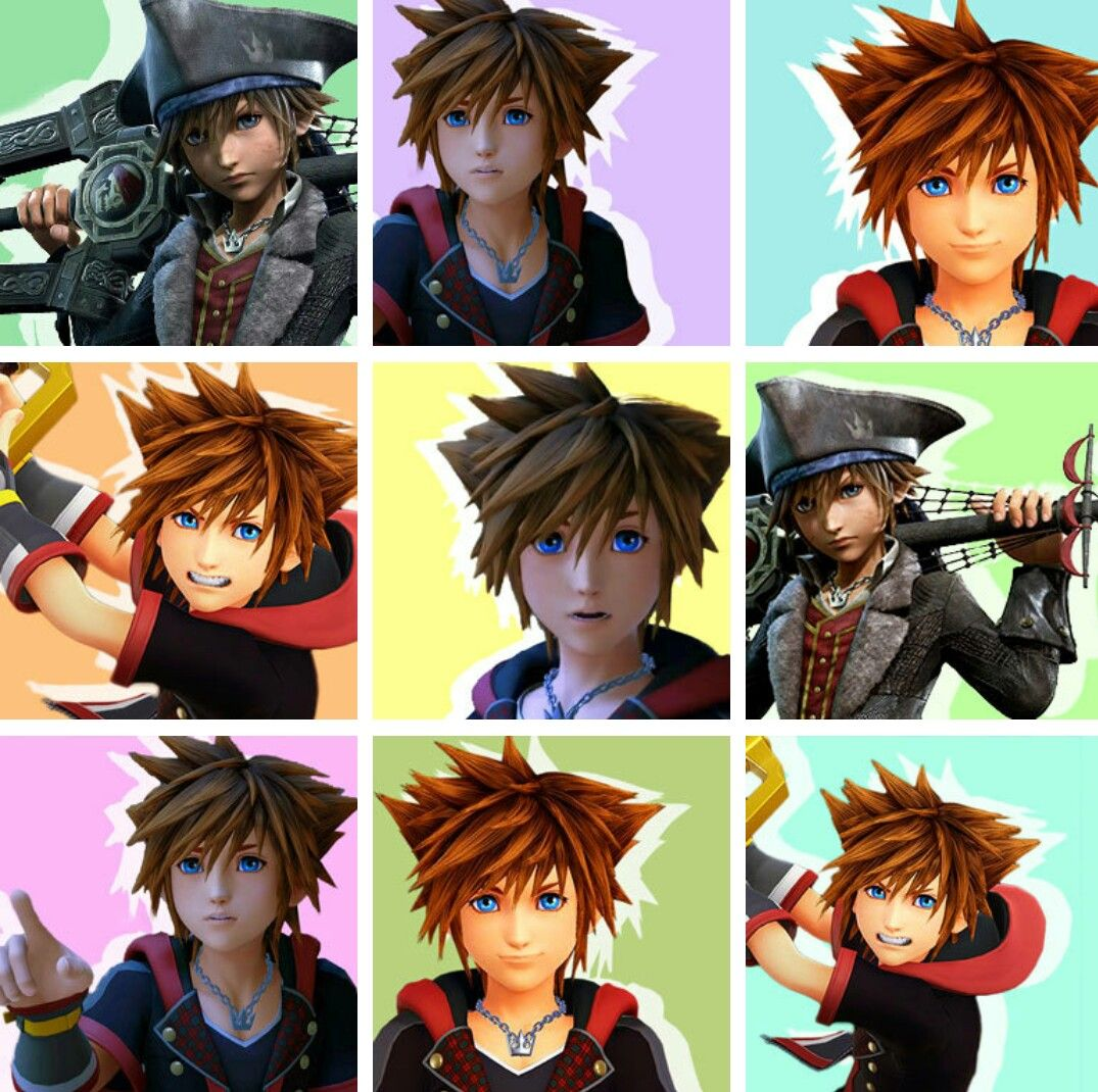 Kingdom Hearts 3 Sora Icons | kh fan | Kingdom hearts, Sora kingdom