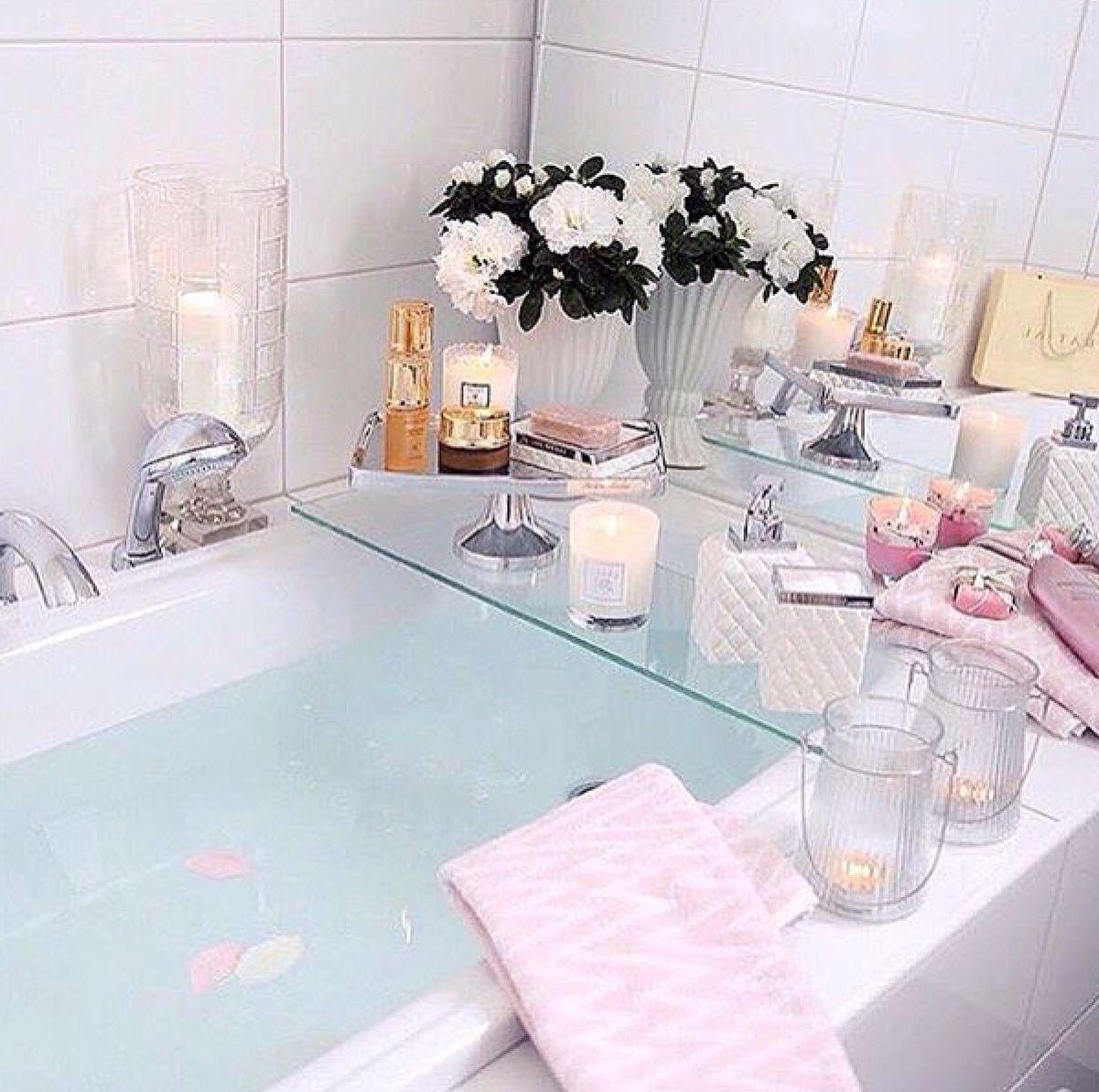 Glass Bath Tray | SO DAMN CUTE! | Pinterest | Trays, Bath and ...