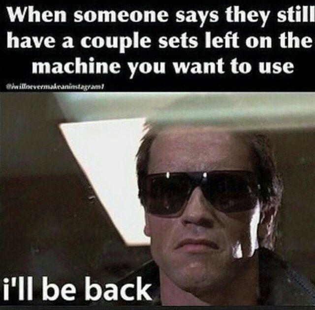 I'll b back