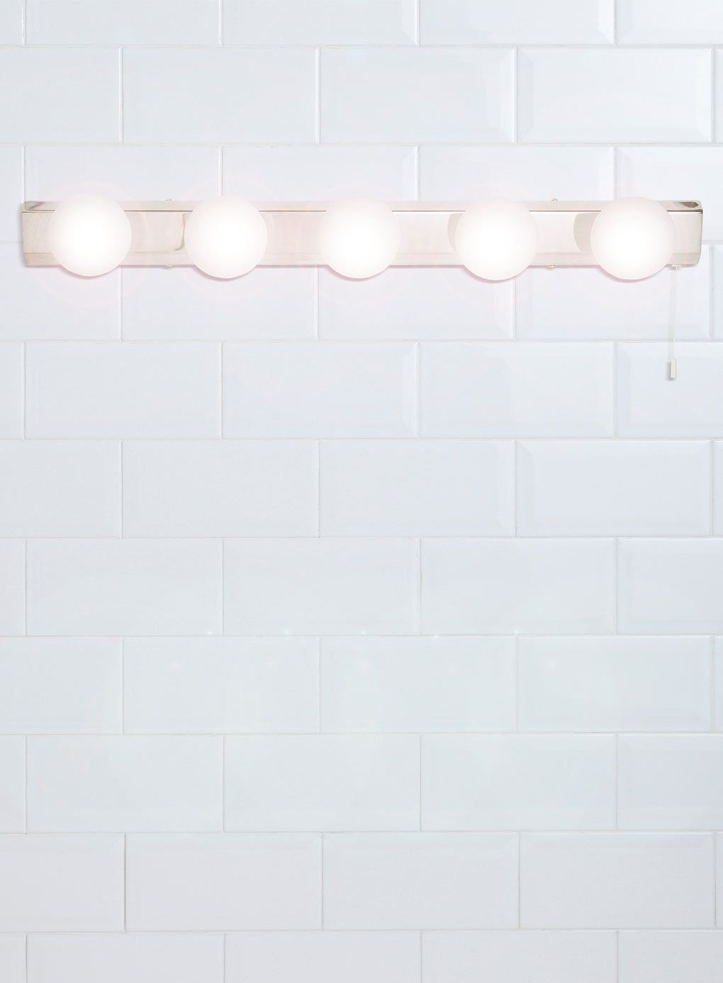 Chrome Ara 5 Light Wall Light Bhs Beauty Fashion Bathroom