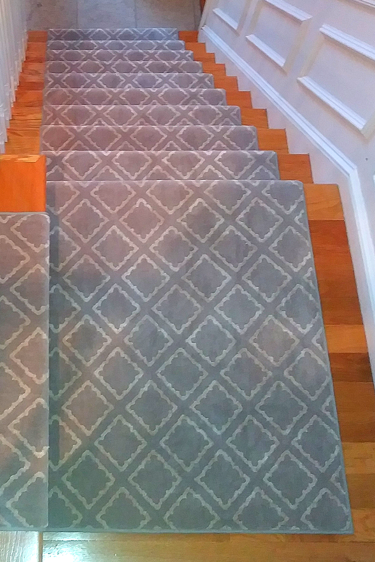Modern Rugs For Modern Stairs There Is A Pattern And Color For Everyone We Love This Di Stair Runner Carpet Patterned Stair Carpet Stair Runner Installation