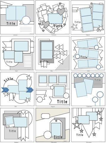 Wide-eyed Scrapbook Design #scrapbookingalbum #ScrapbookCreativeMemories