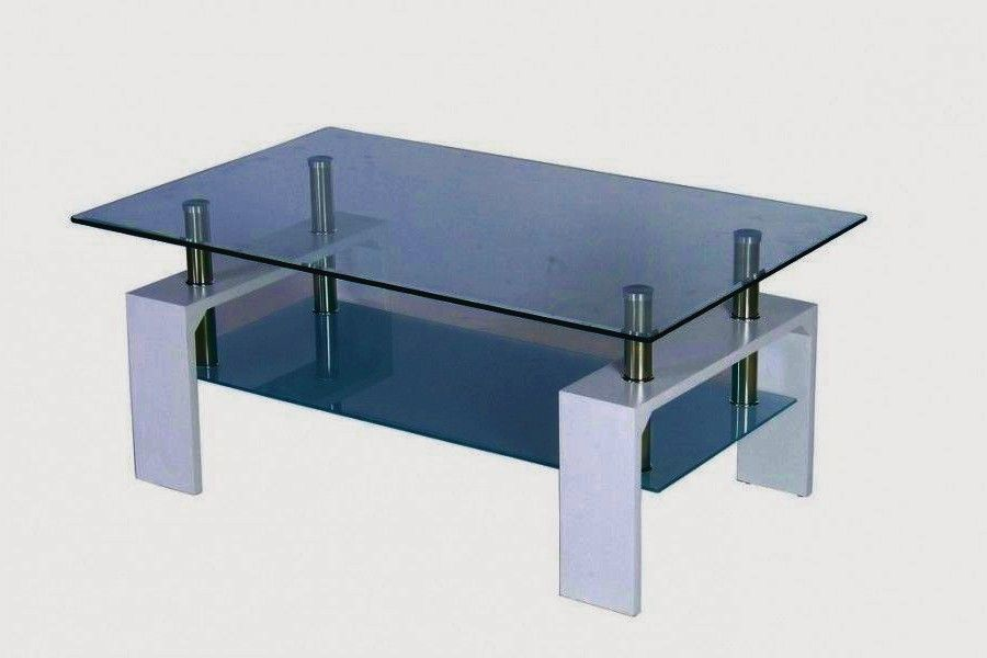 Adorable Table Basse En Verre Ikea Joyeux