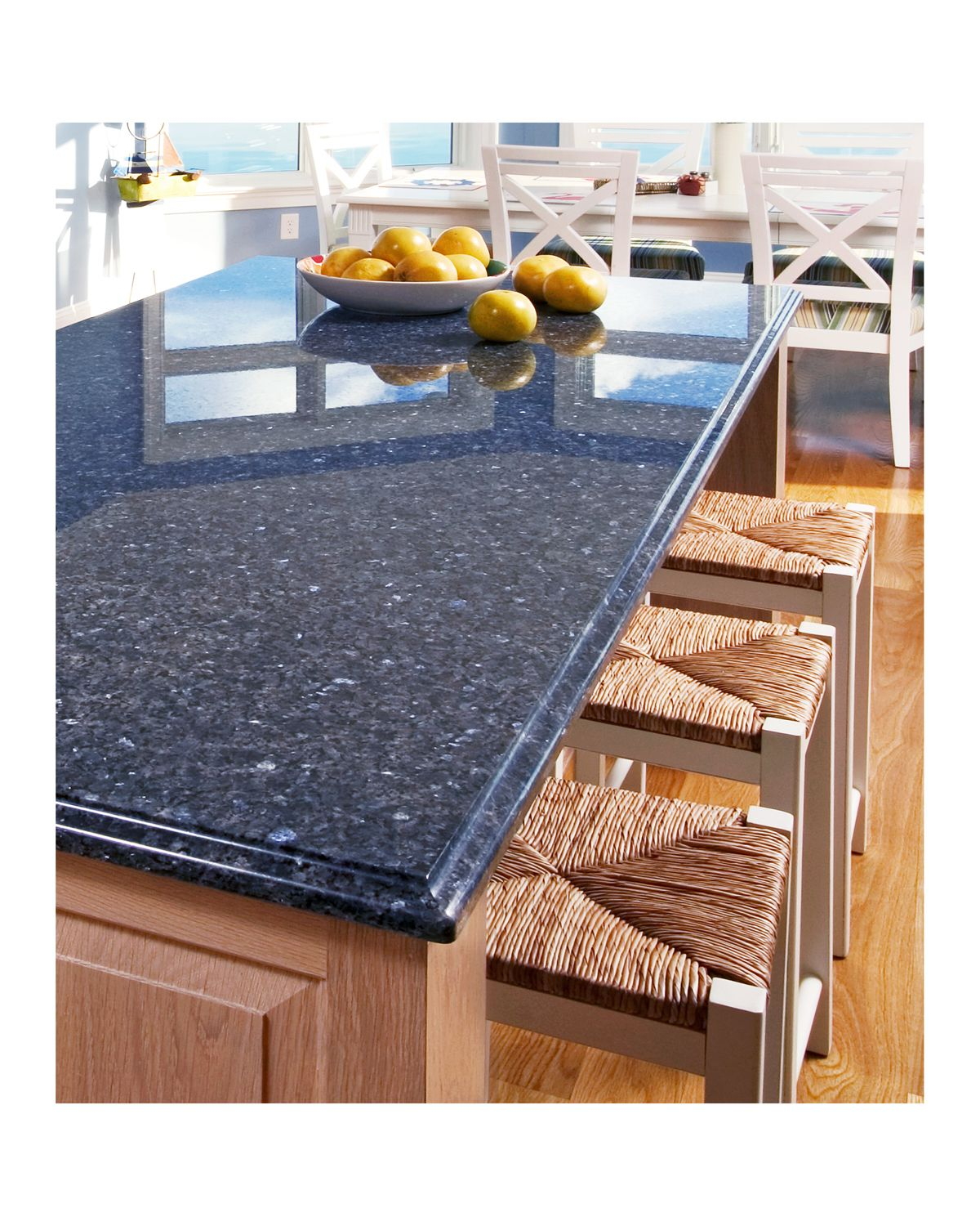 blue kitchen countertops decorative trash cans for kitchens beautiful