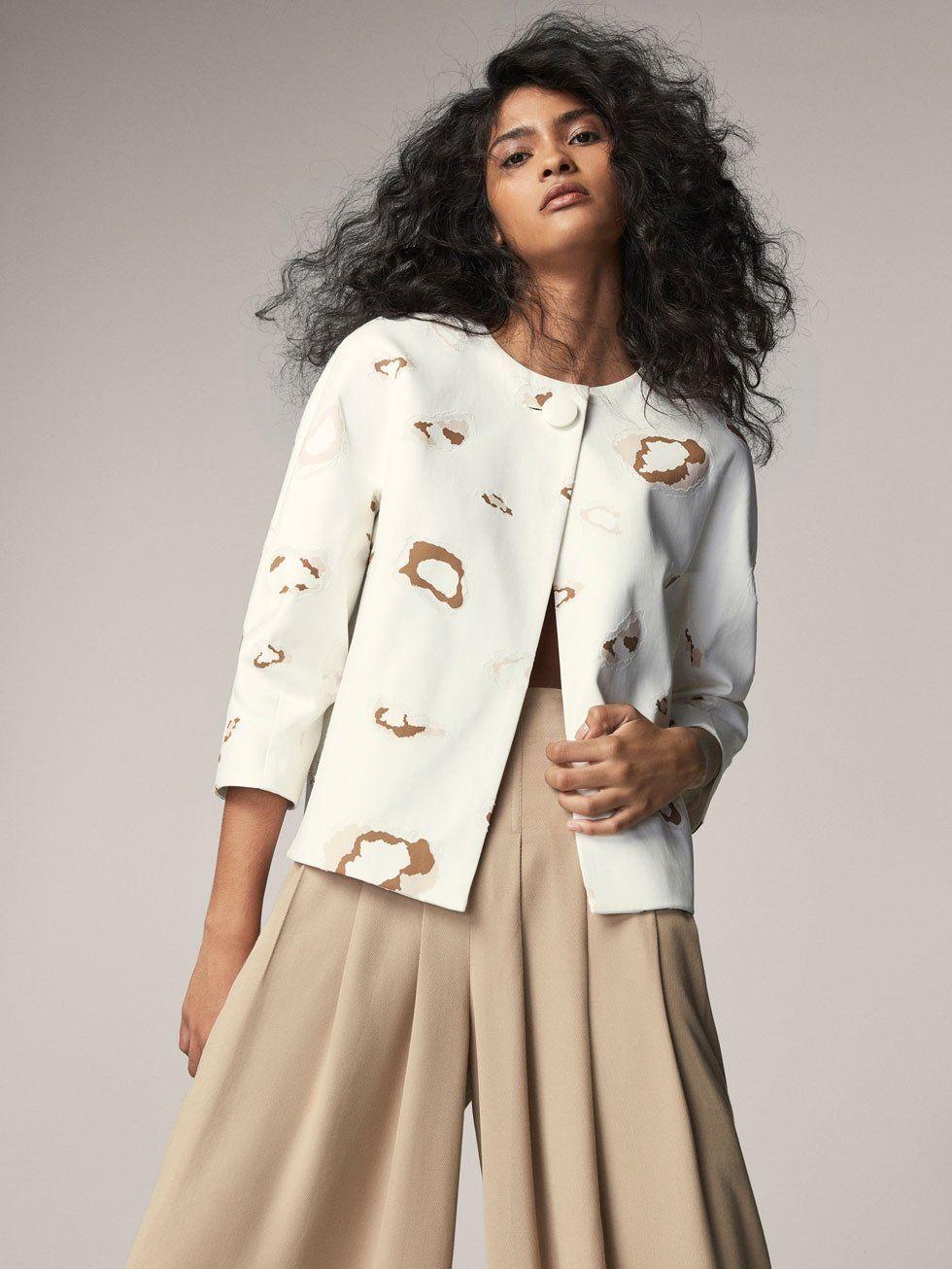 Massimo Dutti Trench Coat 6007 607 Pattern Fashion Jacket Pattern Trench Coats Women