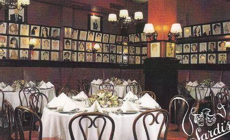 Sardi S Restaurant New York City Old