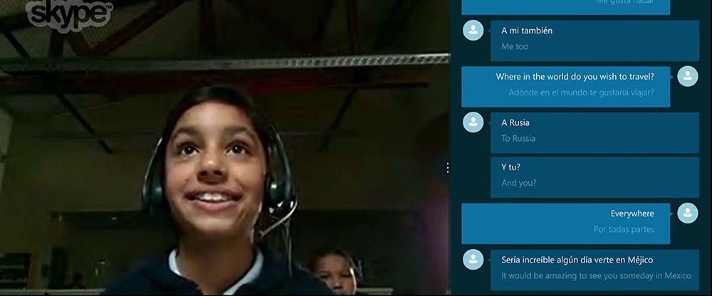 El Traductor En Tiempo Real De Skype Ya Disponible En Inglés Y Español Skype Informática Bien Gracias