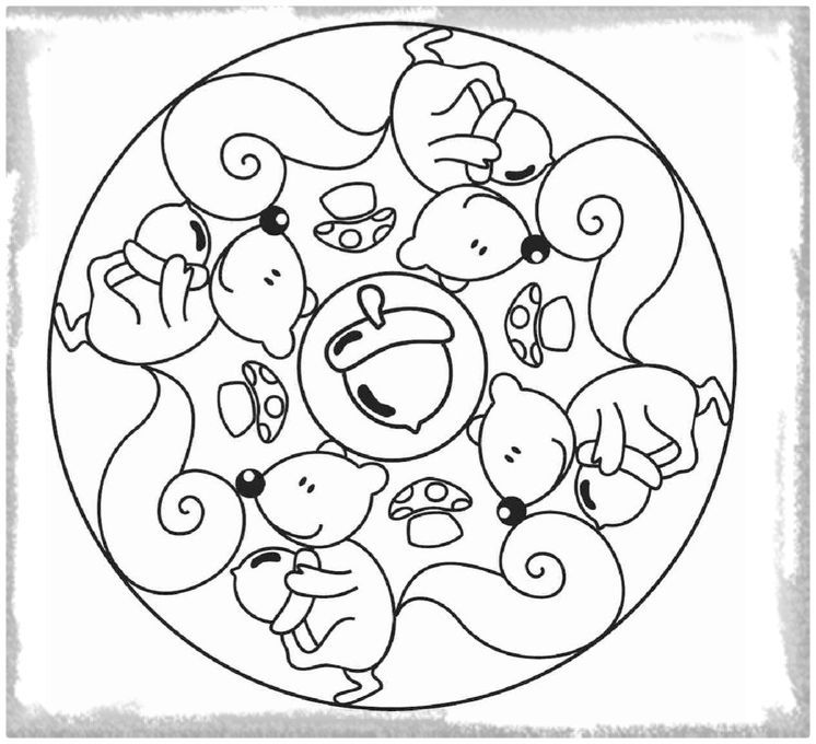 Mandalas Para Niños De 3 A 6 Años Para Imprimir Mandalas