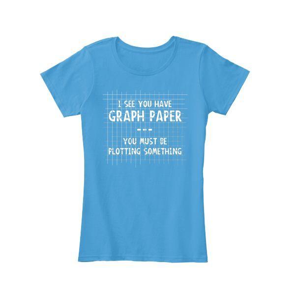 Math Graph Paper Womenu0027s T-Shirt Products Pinterest Graph - math graph paper