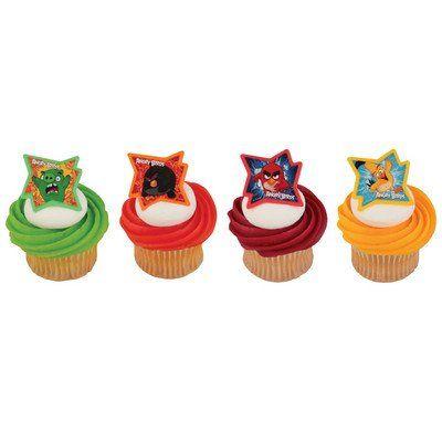 DIY Angry Bird Cake Decorating Kit Ideas home plus FREE