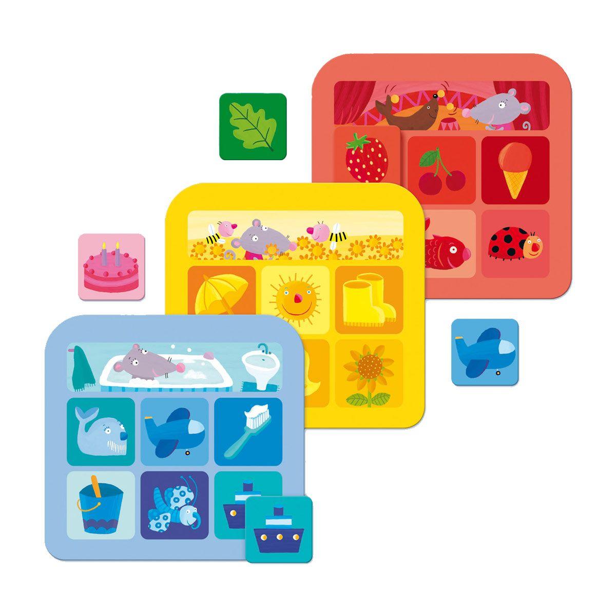 Loto des couleurs Nathan pour enfant de 2 ans à 5 ans - Oxybul éveil et jeux - 11,99€