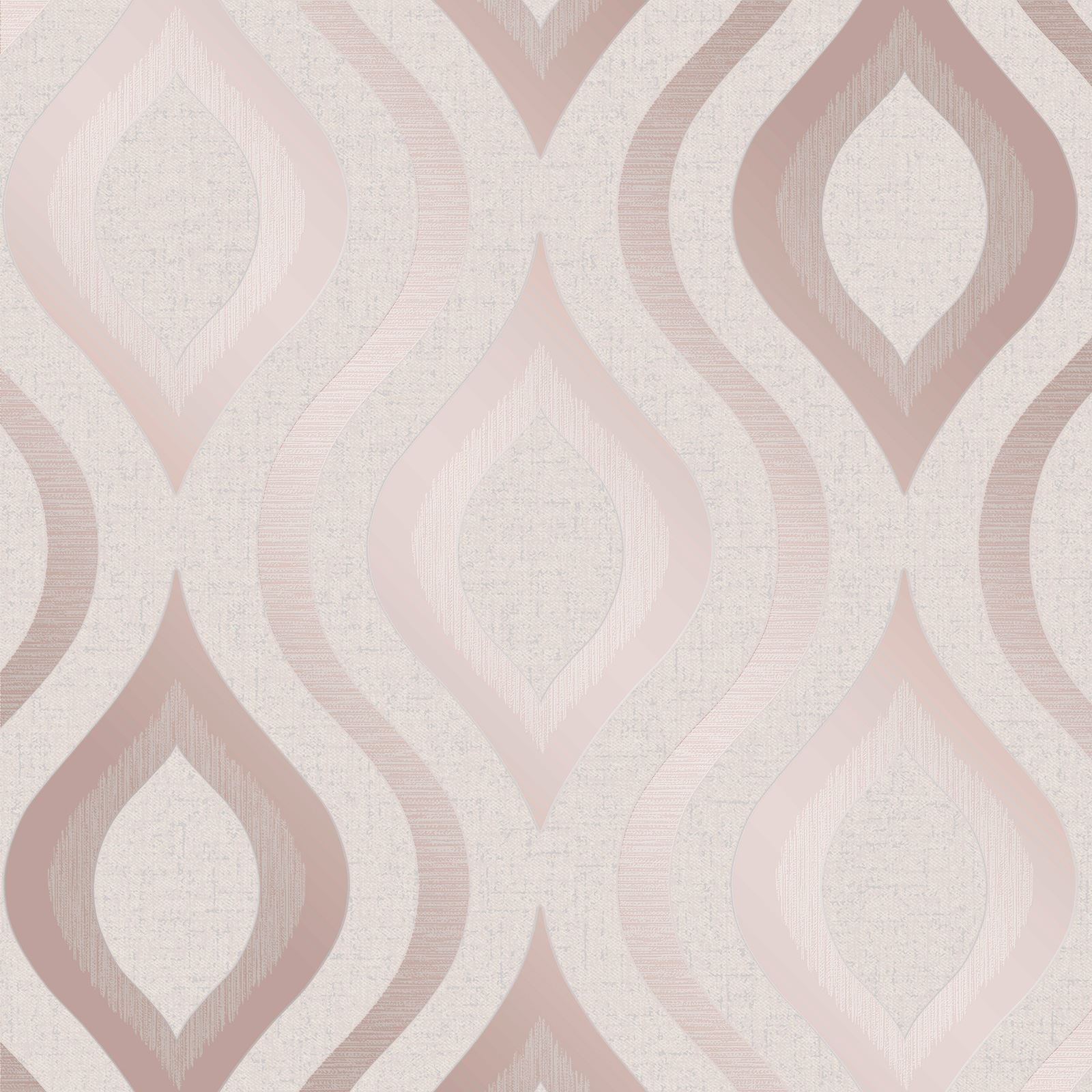 Quartz Metallic Rose Gold Glitter Geometric Retro Feature Wallpaper Fd42206 Geometric Wallpaper Rose Gold Rose Gold Wallpaper Geometric Wallpaper