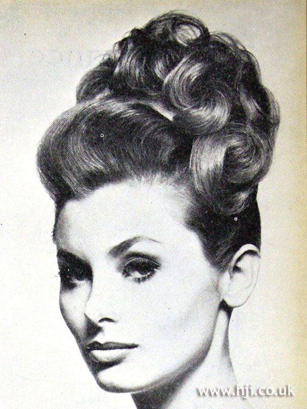 1962 Updo Curls Hairstyle Hairstyle Gallery Vintage