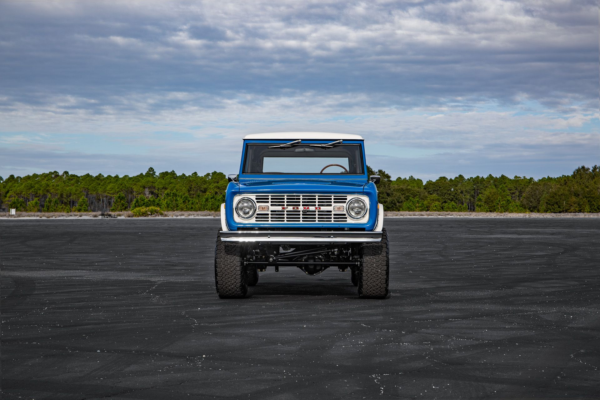 Mountain Early Ford Bronco Front Ford Bronco Bronco Classic Bronco