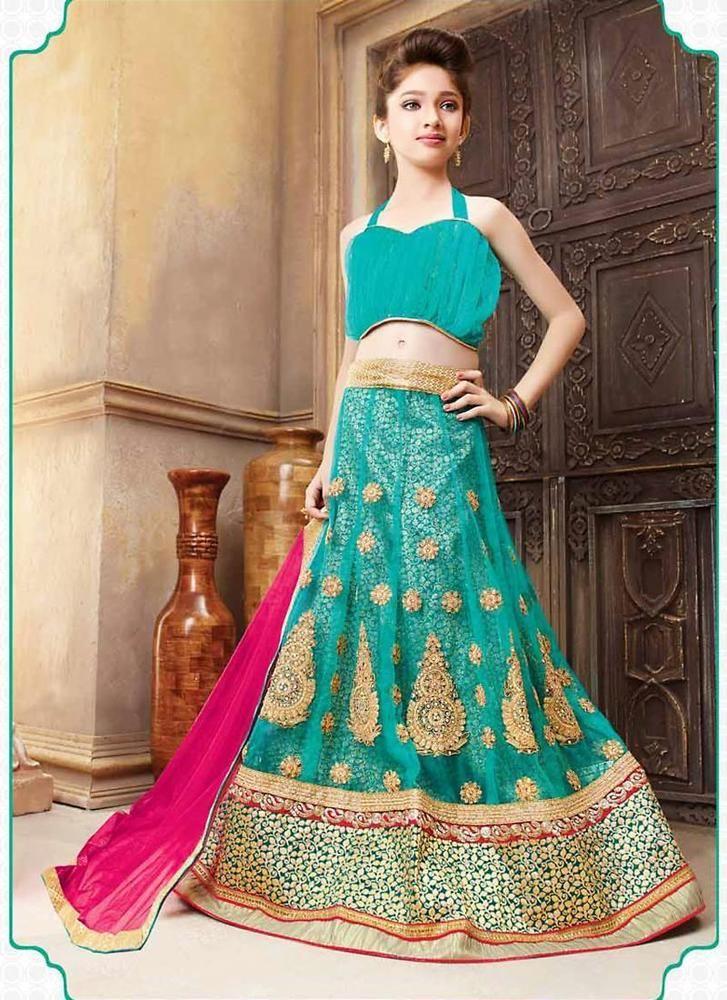 Indian Wedding Wear Ethnic Lehenga Traditional Bollywood Choli ...