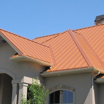 Copper Penny Home Coated Metals Group Copper Roof Copper Penny Metal Roof