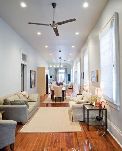 modern shotgun house interior double interiors pinterest