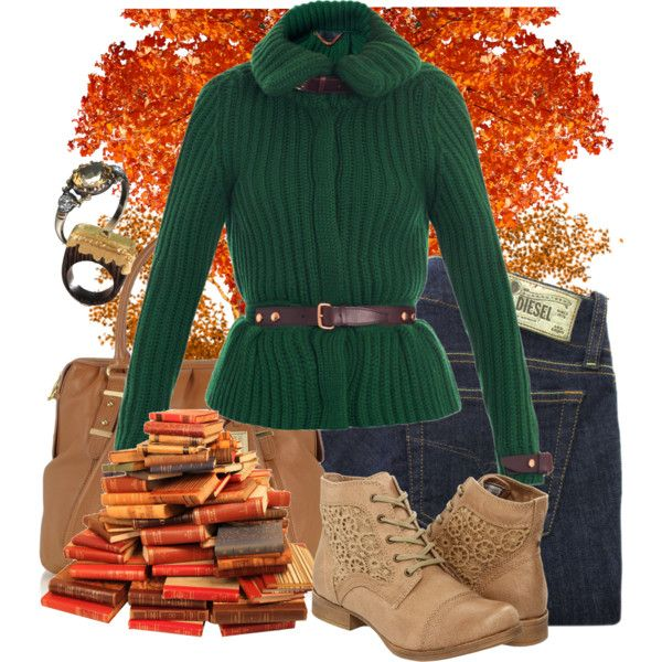 """""""Reading Under A Tree"""" by fashionmefabulous on Polyvore"""