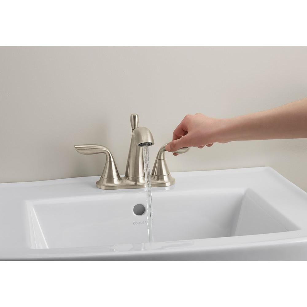 Kohler Williamette 4 In Centerset 2 Handle 1 2 Gpm Bathroom