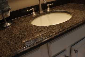Bathroom Vanity, Medina, OH ~ Granite Countertop   Traditional   Bathroom  Countertops   Cleveland   Cabinet S Top