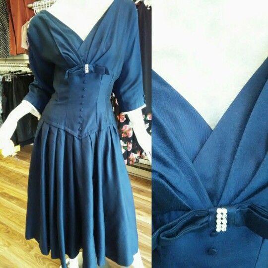Vintage corset dress