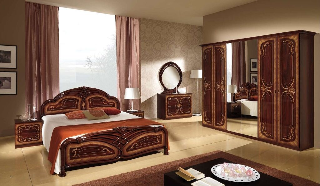 Vintage Mahogany Bedroom Furniture