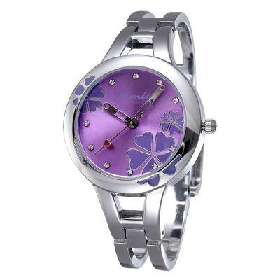 Женские кварцевые часы на браслете из нержавеющей стали