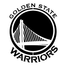 Nba Golden State Warriors Logo Stencil Golden State Warriors