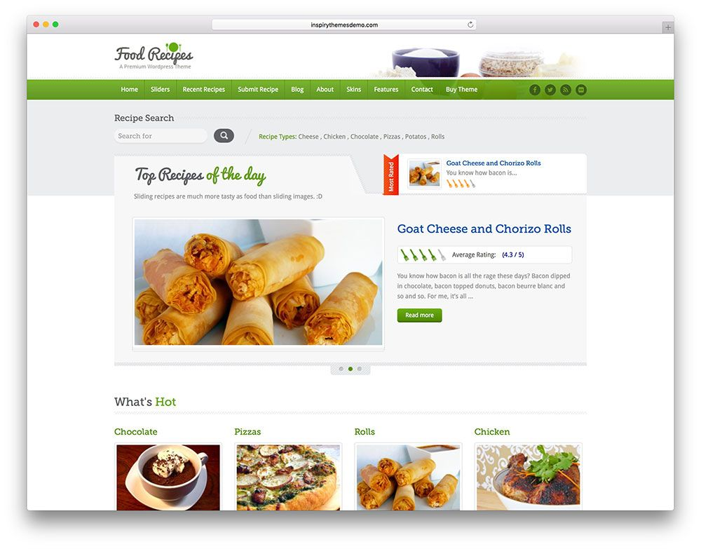 Food recipes classic directory theme food theme pinterest food recipes classic directory theme forumfinder Images
