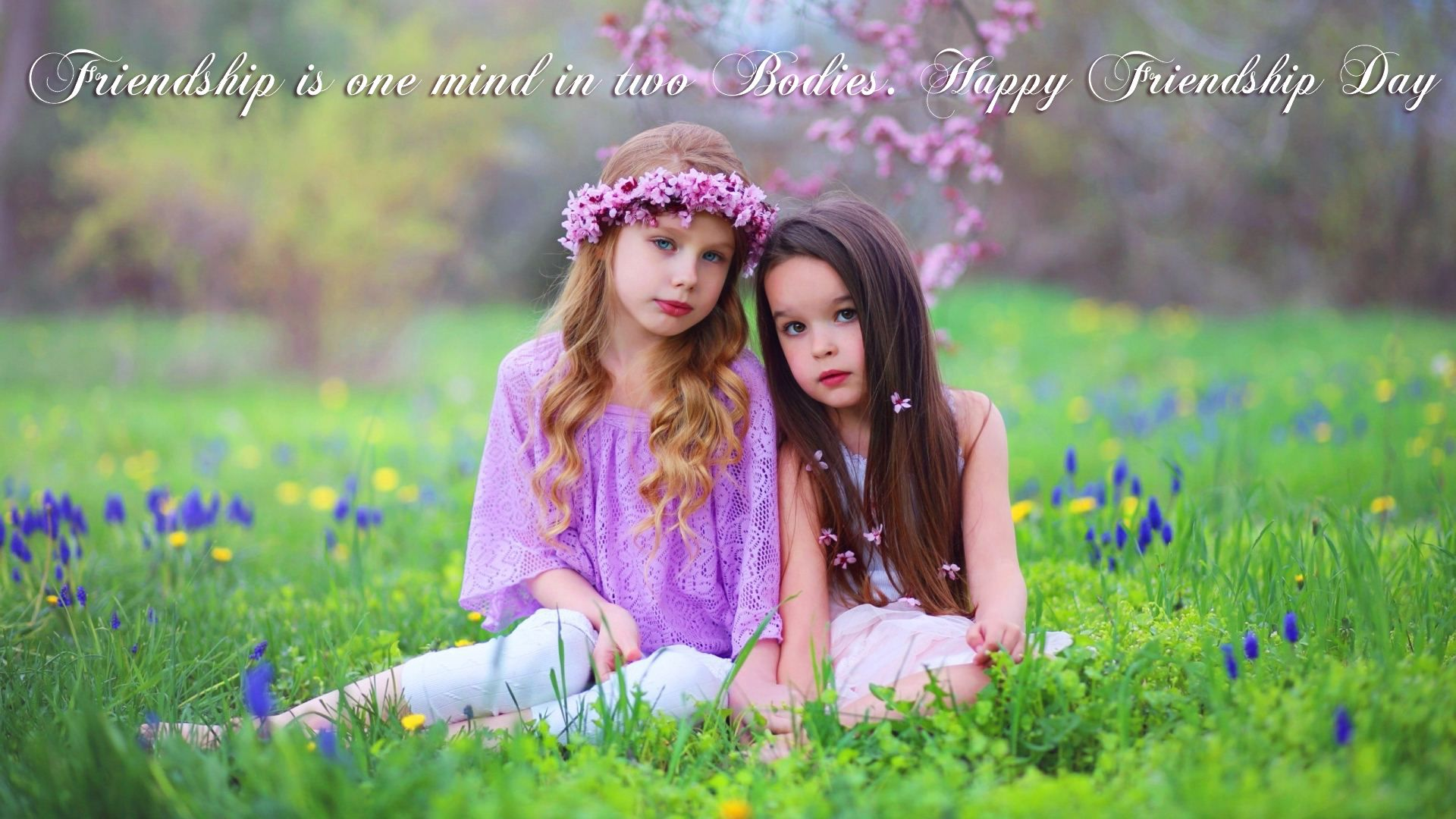 Cute Girls Friends Forever HD Wallpaper Happy, Friendship ...