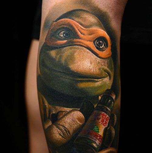 The great Nikko Hurtado tattooed this portrait of known ...