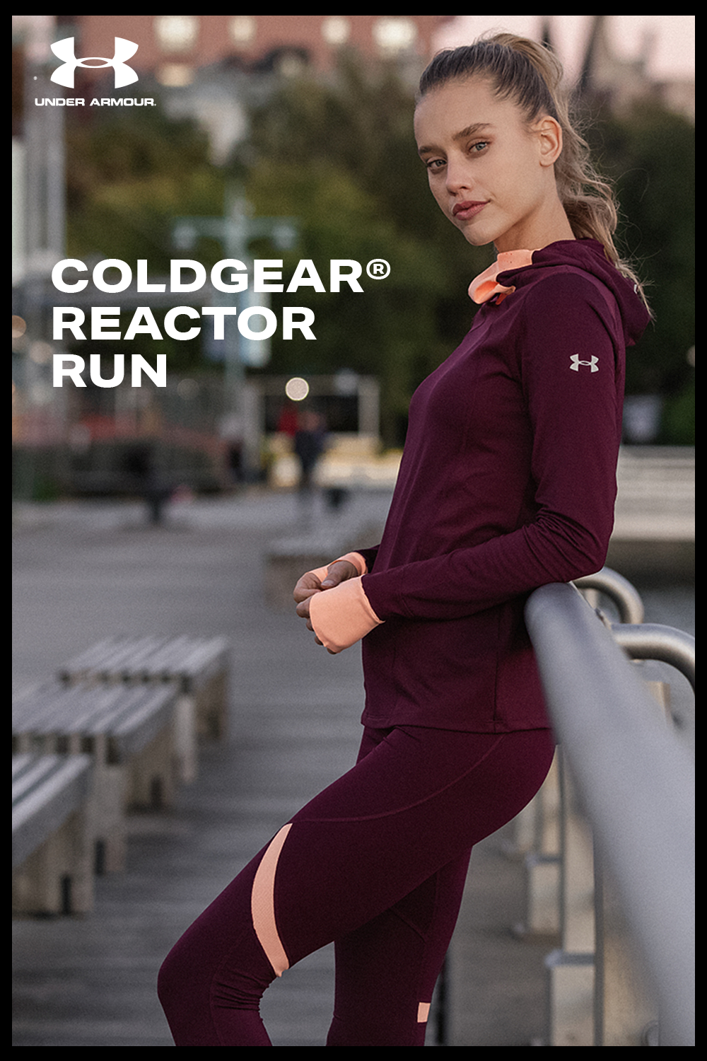 553715b7a0f6e9 The Under Armour ColdGear Reactor Balaclava is our smartest insulation running  hoodie ever. It's designed