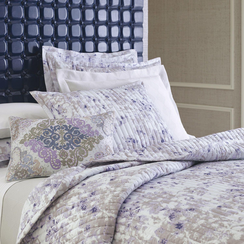 Company C Aria Spa Blue Quilt @Zinc_Door | b e d d i n g ... : company c quilts - Adamdwight.com