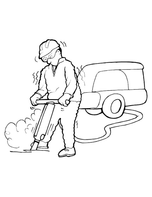 Pics Photos - Construction Coloring Page To Print And Color ...