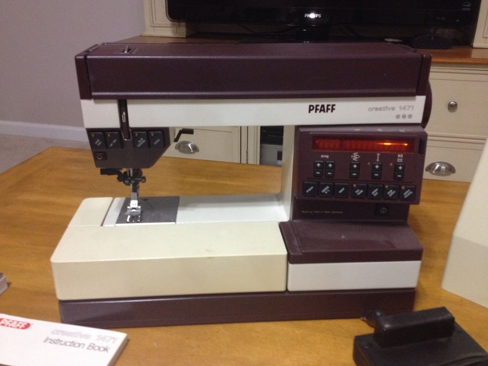 The best one out there....Pfaff Creative 1471 -Excellent ...