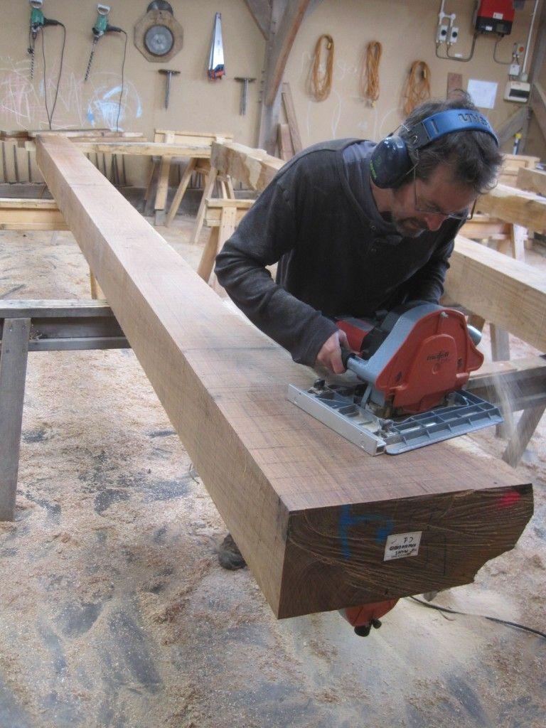 Shaping a Jowl Post - Castle Ring Oak Frame - https://www ...