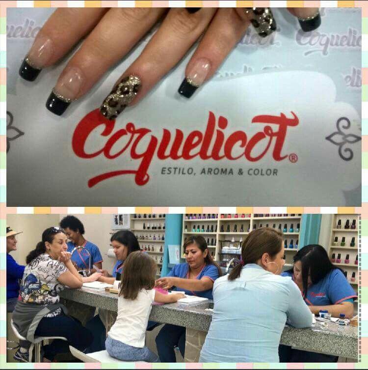 Casa llena en @coquelicotec, búscanos en Mall El Jardín, nivel 1. #manicure #uñas #manos #spa #nailsalon #SallyHansen #OPI #ChinaGlaze #essie