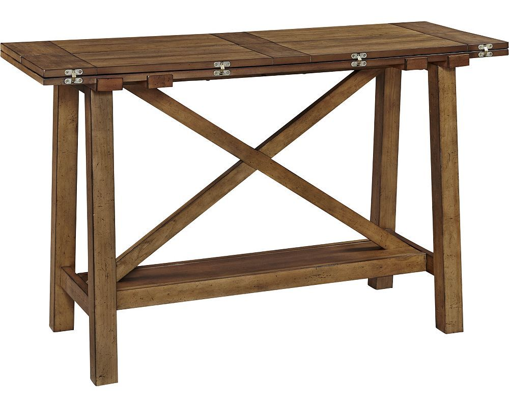 Awesome Broyhill Bethany Square™ Console Desk Table