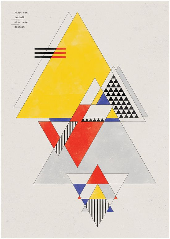 Bauhaus Art as Life by PSD , via Behance Bauhaus art