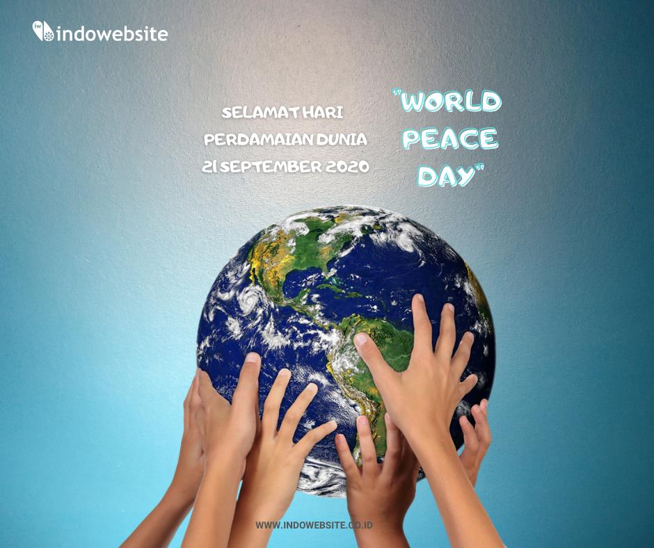 Selamat Hari Perdamaian Dunia/Hari Perdamaian
