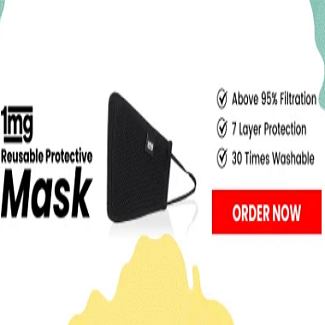 Reusable Protection Mask Of 1mg 8211 Get Flat 28 Off On Mask In 2020